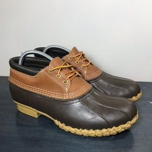 LL Bean Maine Hunting Shoe Gumshoe Duck Low Boots